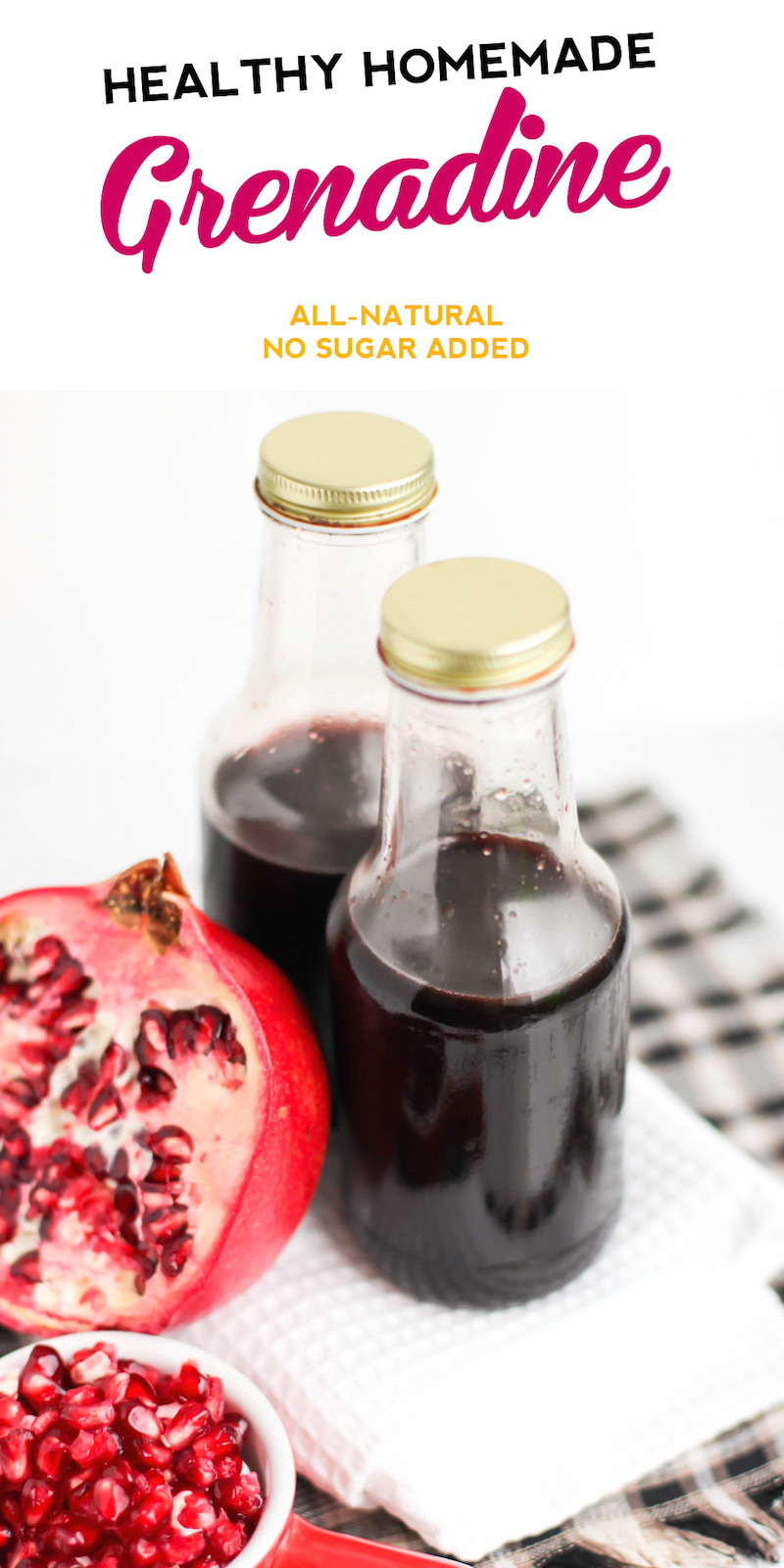 This flavorful DIY Grenadine is incredibly versatile — it's ...