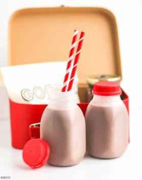 Healthy Nutella Milk Chocolate recipe (sugar free, low fat, gluten free, vegan) - Desserts with Benefits