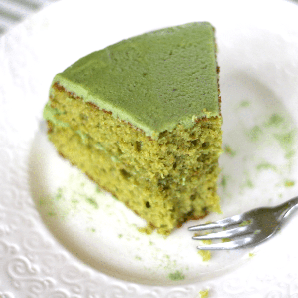 Green Tea Cake With Red Bean Filling Recipe