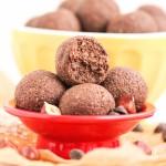 Healthy Nutella Fudge Energy Bites (refined sugar free, gluten free, vegan) - Desserts with Benefits