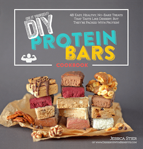 Healthy Dessert Cookbooks: The DIY Protein Bars Cookbook and The Naughty or Nice Cookbook!