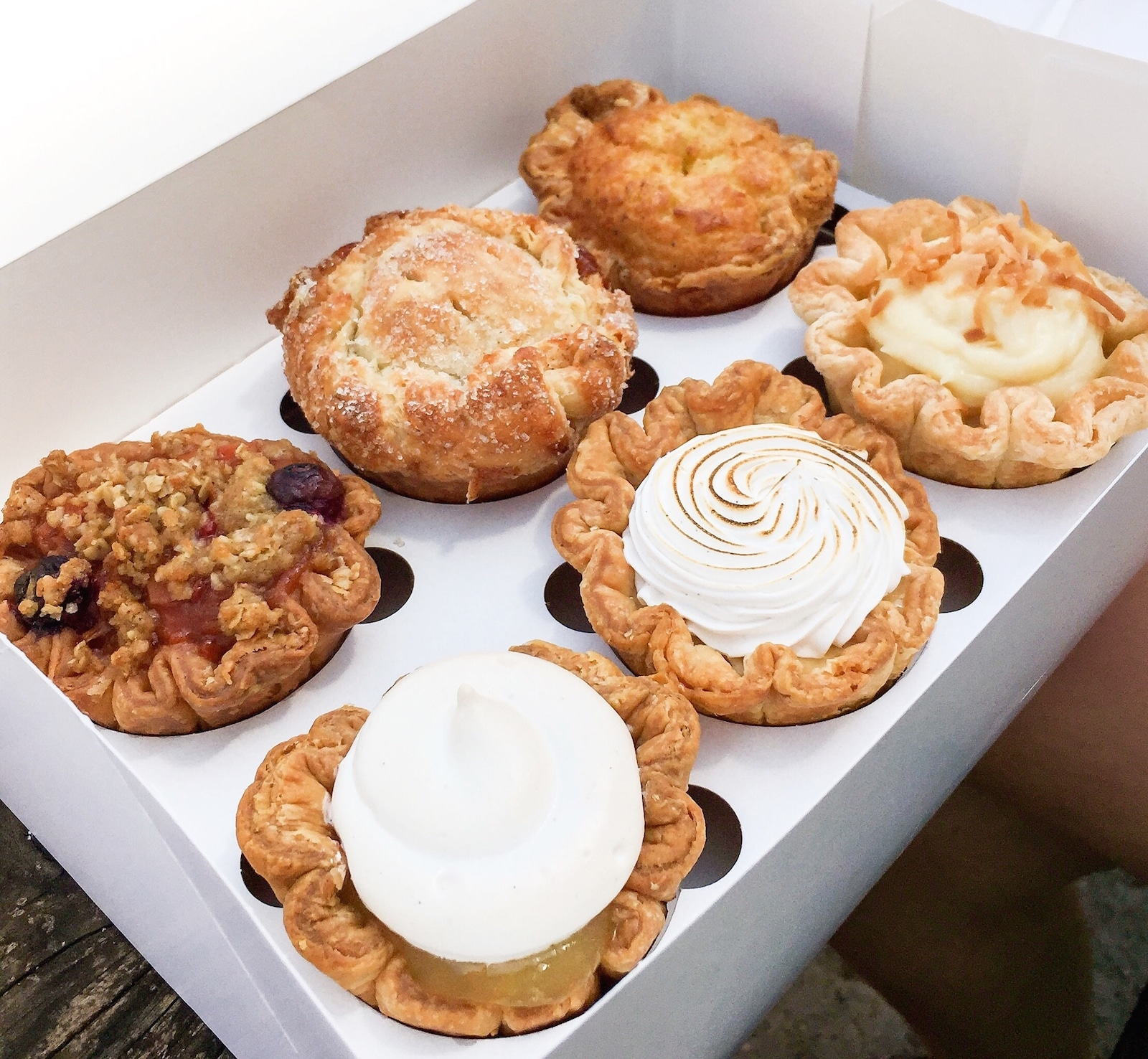 Tiny Pies - Desserts with Benefits