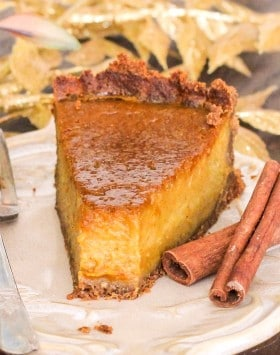 Healthy Pumpkin Pie – Naughty or Nice Cookbook: The ULTIMATE Healthy Dessert Cookbook – Jessica Stier of Desserts with Benefits