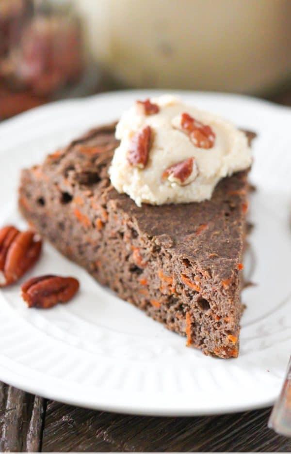 Vegan Microwave Carrot Cake