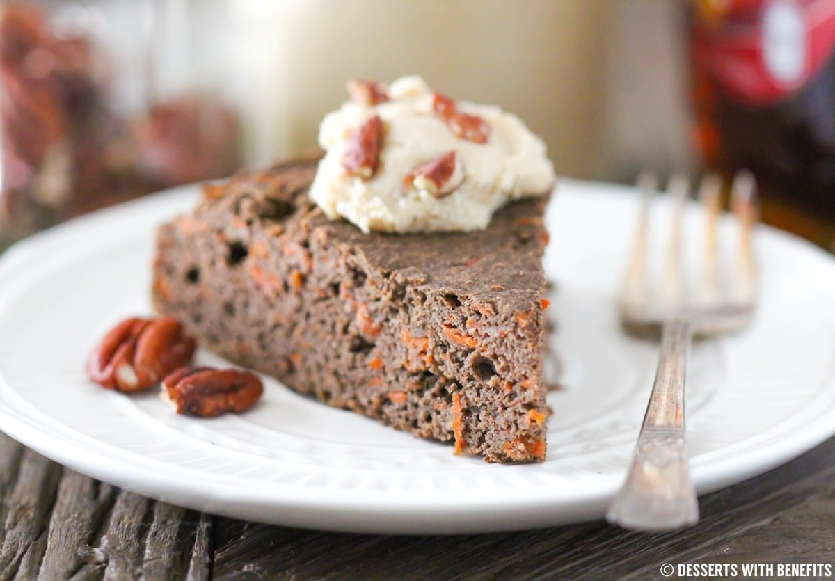 Low Fat Gluten Free Cake Recipes: Healthy Buckwheat Carrot Cake Recipe