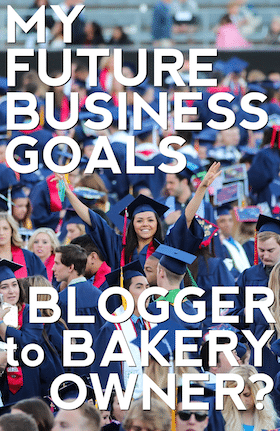 Part IV: My Future Business Goals -- Blogger To Bakery Owner?