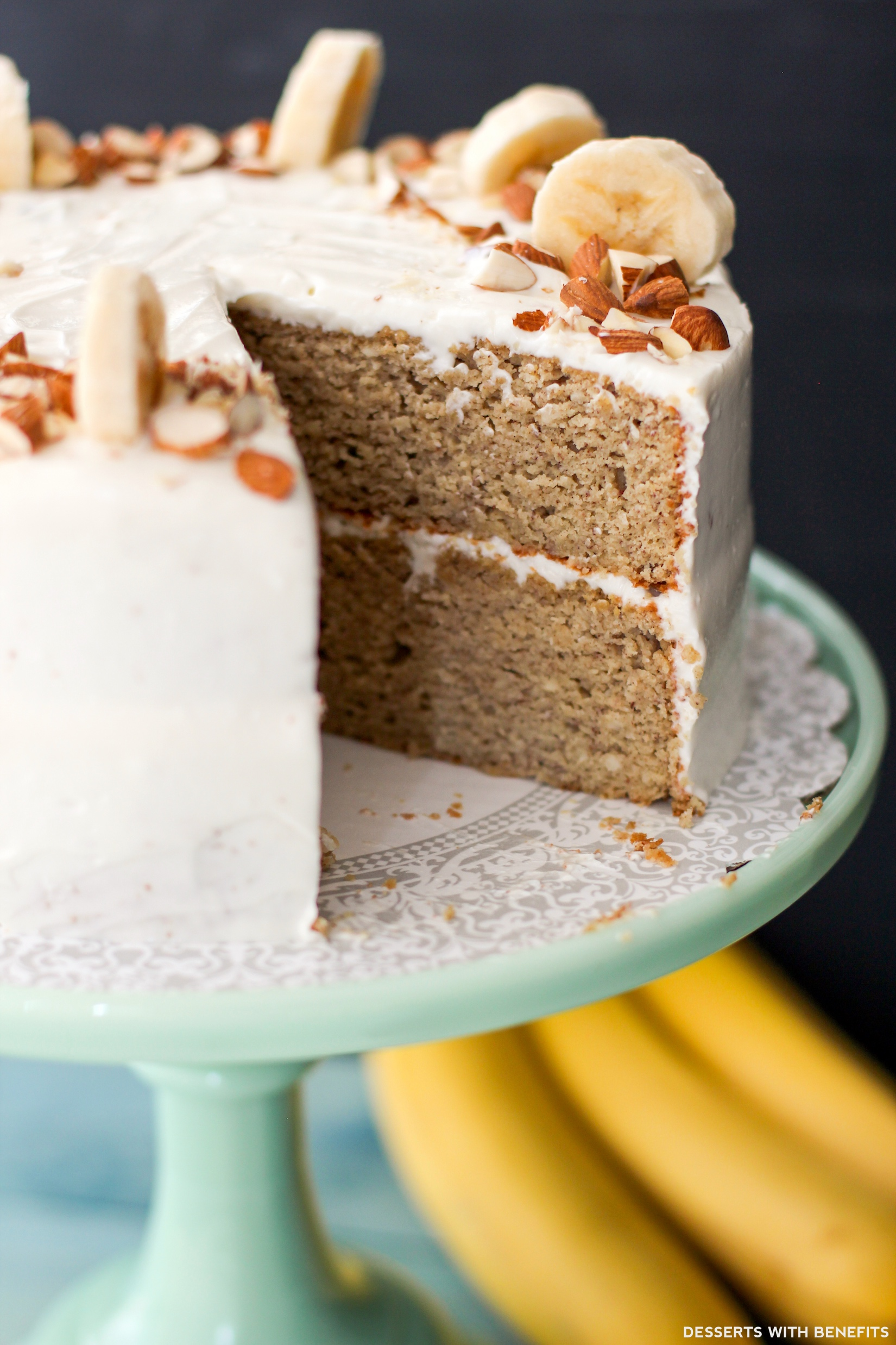 Banana Cake Cream Cheese Frosting Calories