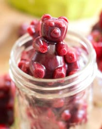Healthy Very Cherry Fruit Snacks (refined sugar free, fat free, gluten free) - Healthy Dessert Recipes at Desserts with Benefits