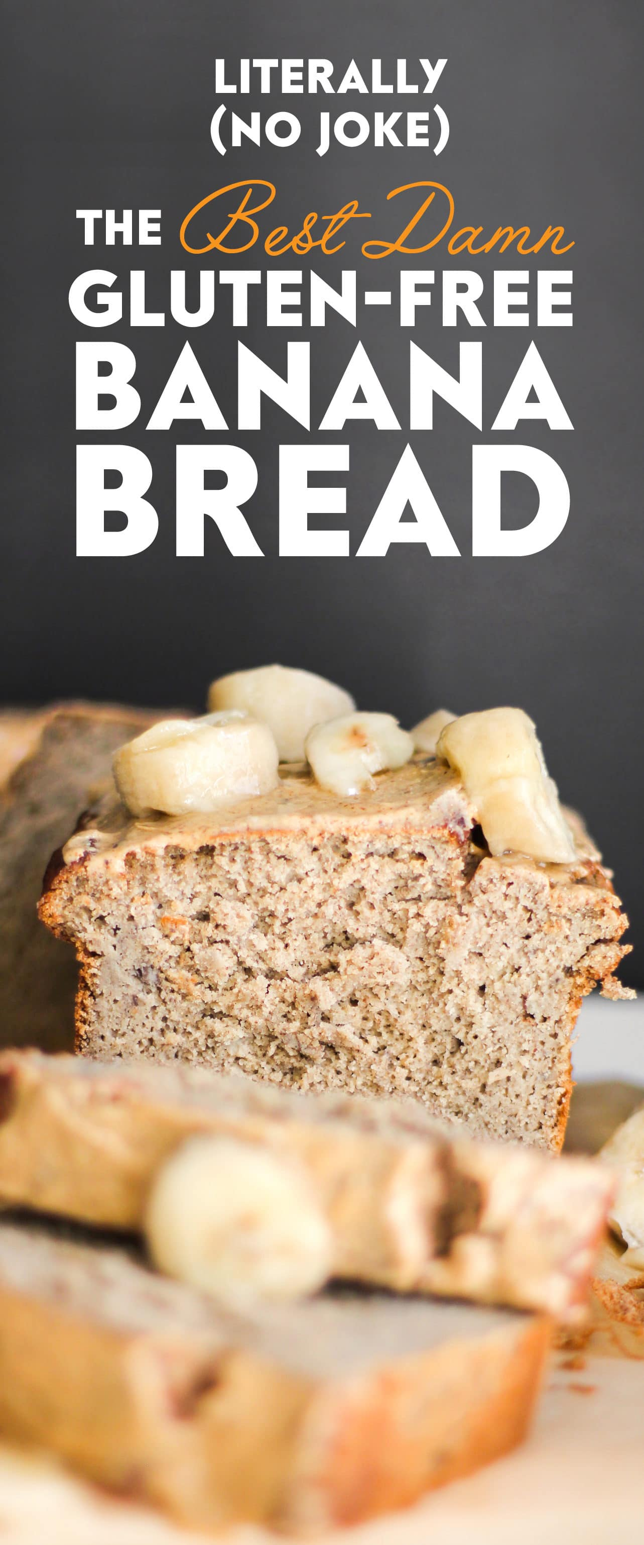 Healthy Banana Bread (refined sugar free, high protein, high fiber, gluten free, dairy free) - Healthy Dessert Recipes at Desserts with Benefits