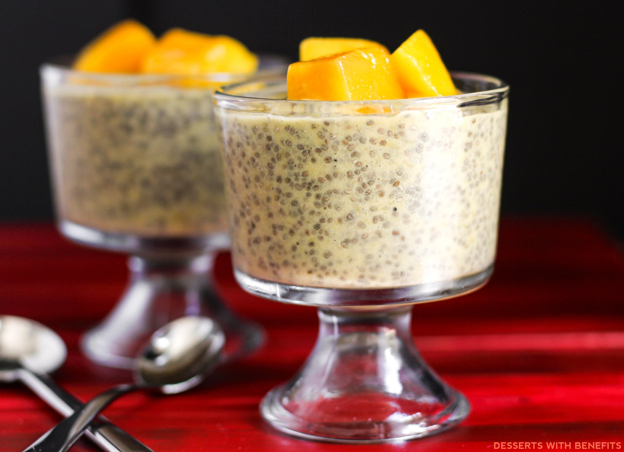 Low Fat High Fibre Cake Recipes: Desserts With Benefits Healthy Mango Cardamom Chia Seed