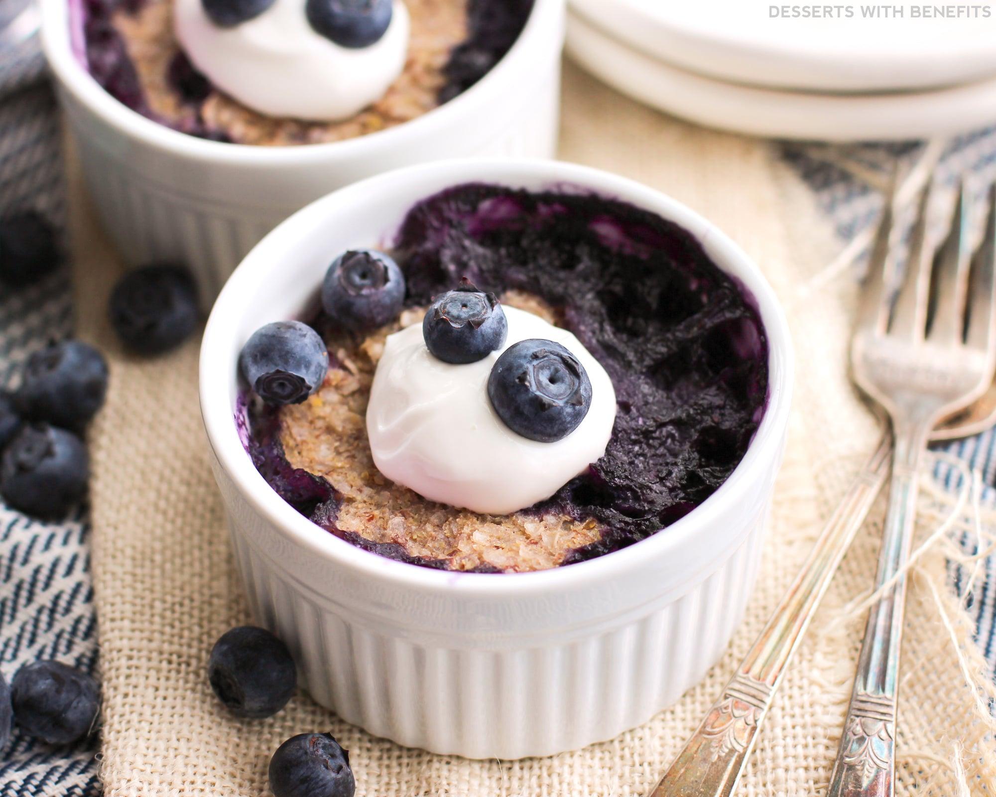 Healthy Microwaveable Blueberry Quinoa Flake Muffins (refined Sugar Free,  Low Fat, High Fiber Apple Cinnamon Quinoa Porridge Recipe