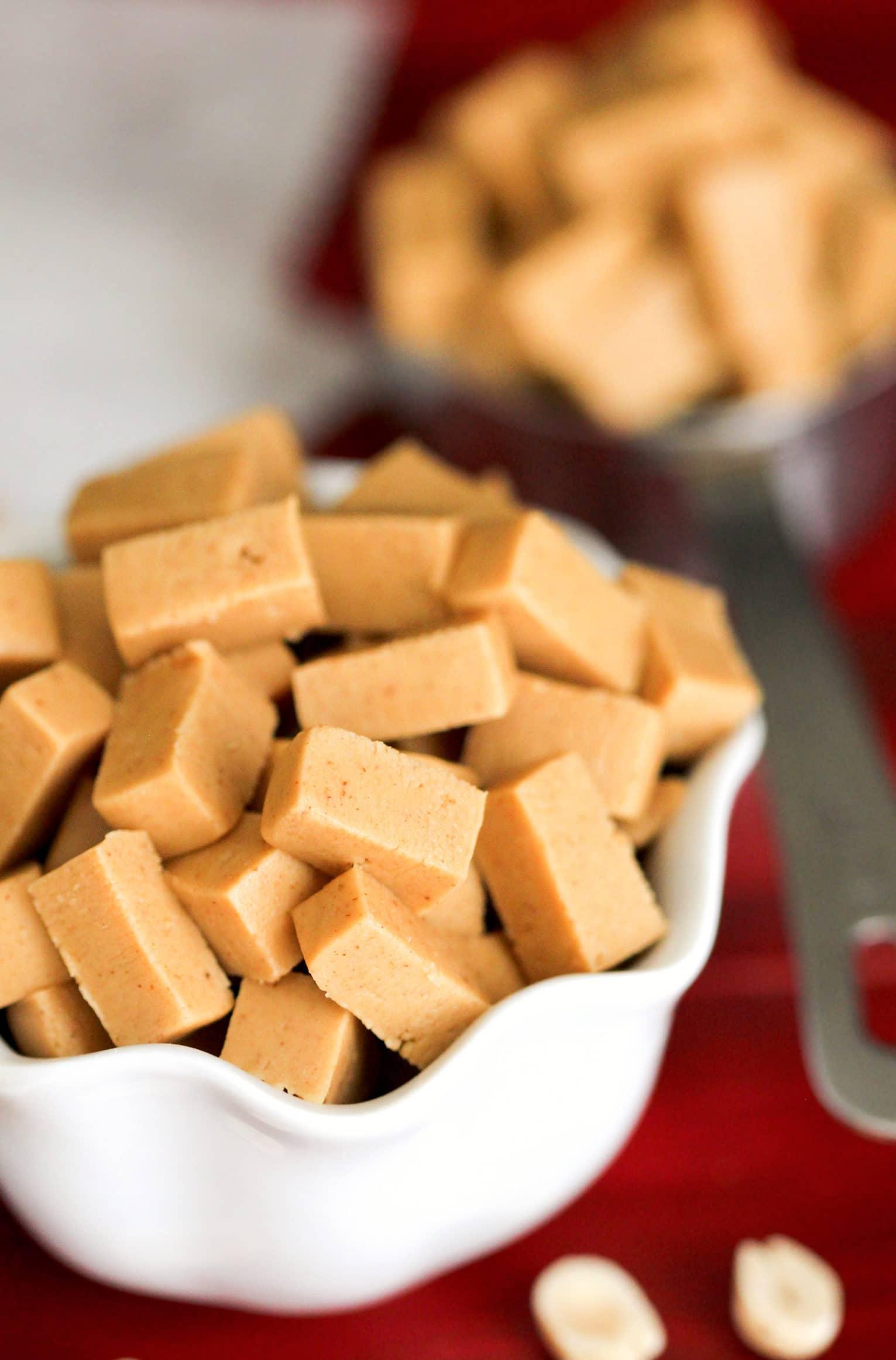 2 Ingredient Homemade Peanut Butter Baking Chips Gluten