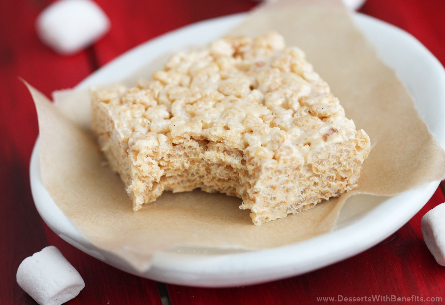 Healthy gluten free protein krispy treats recipe for Quick easy healthy dessert recipes