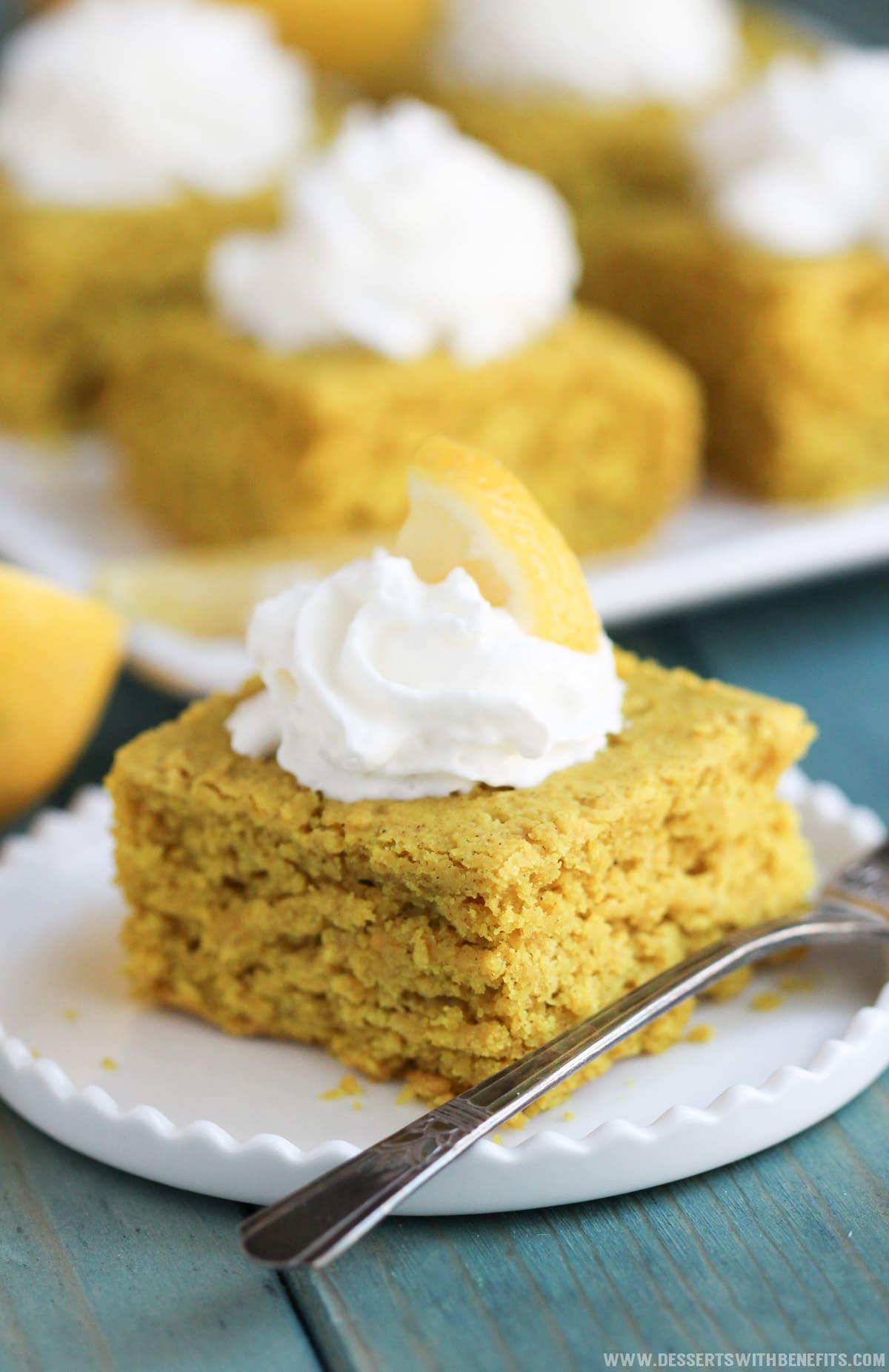 Low Calorie Lemon Curd Cake