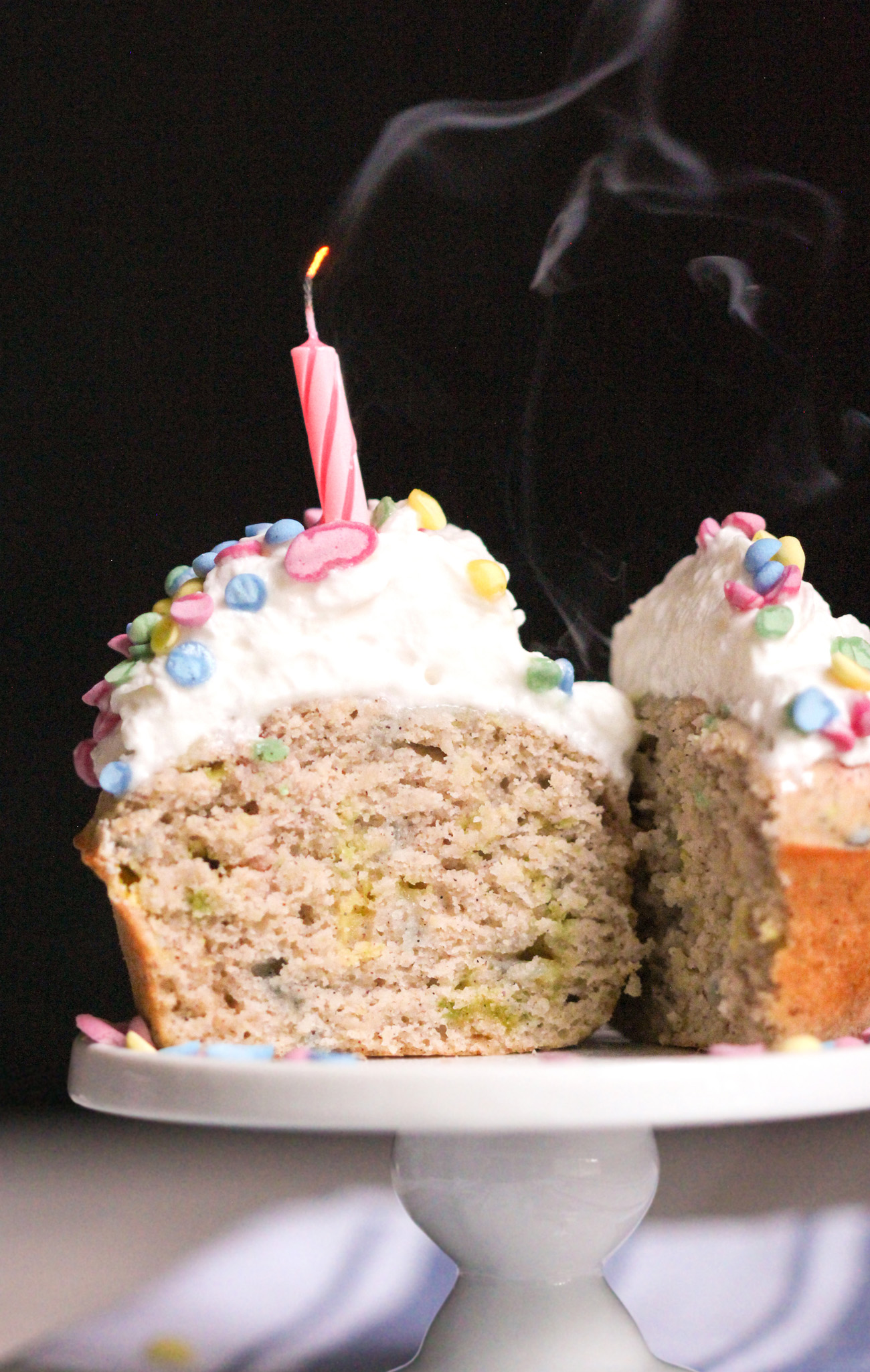Healthy funfetti cupcakes gluten free low fat for How to make healthy desserts from scratch