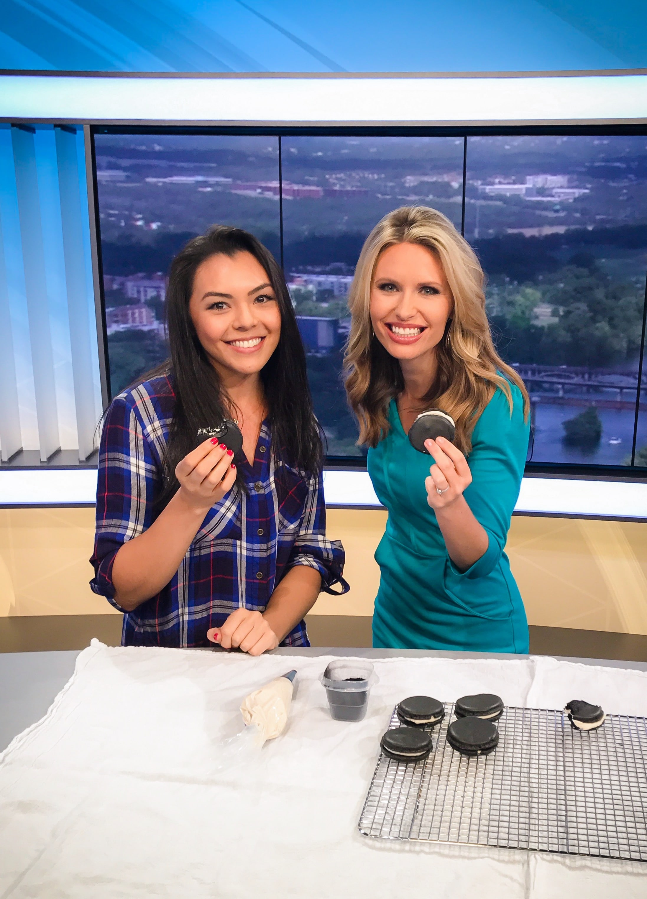 Jessica Stier on Fox Live TV