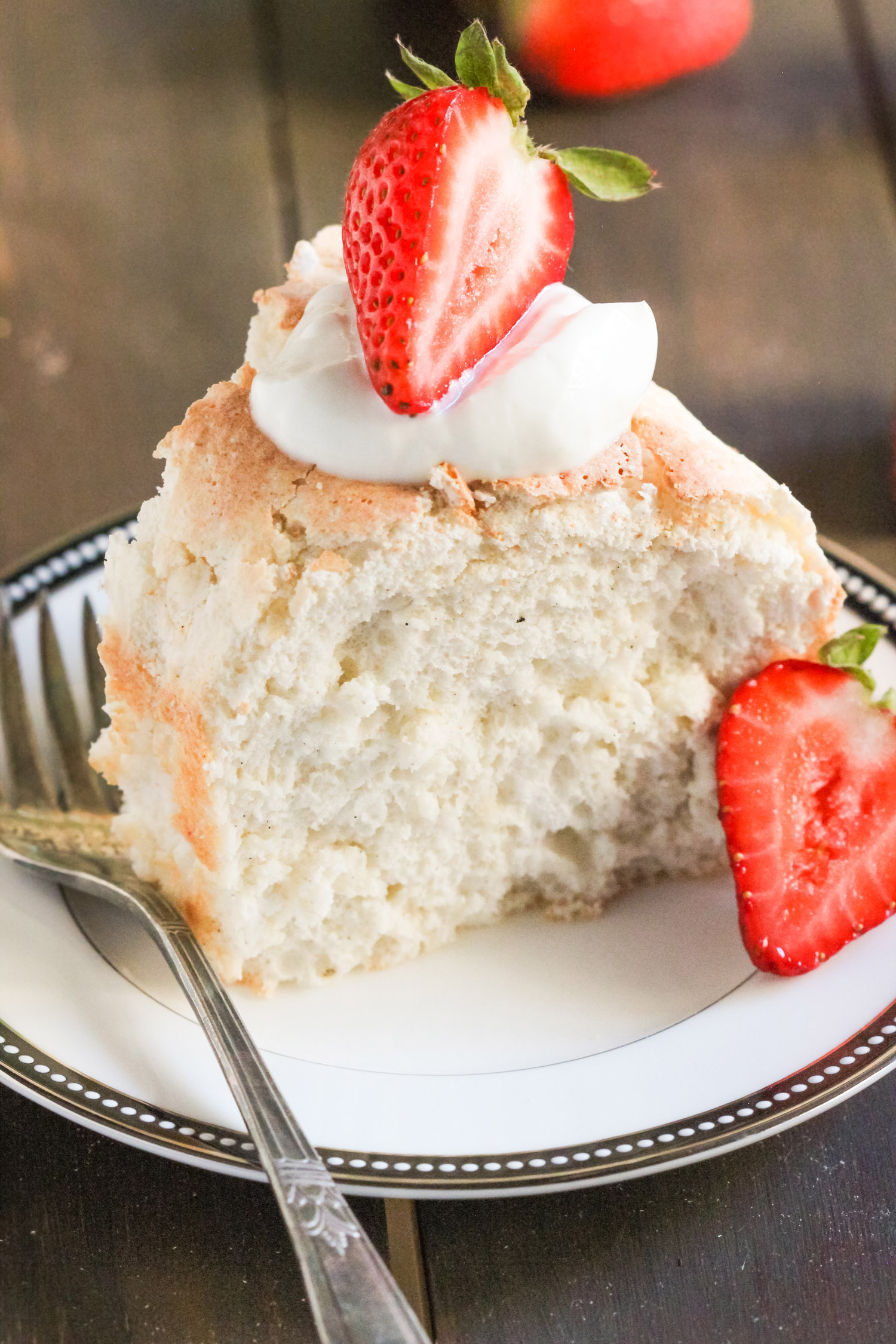 Easy low fat angel food cake recipe