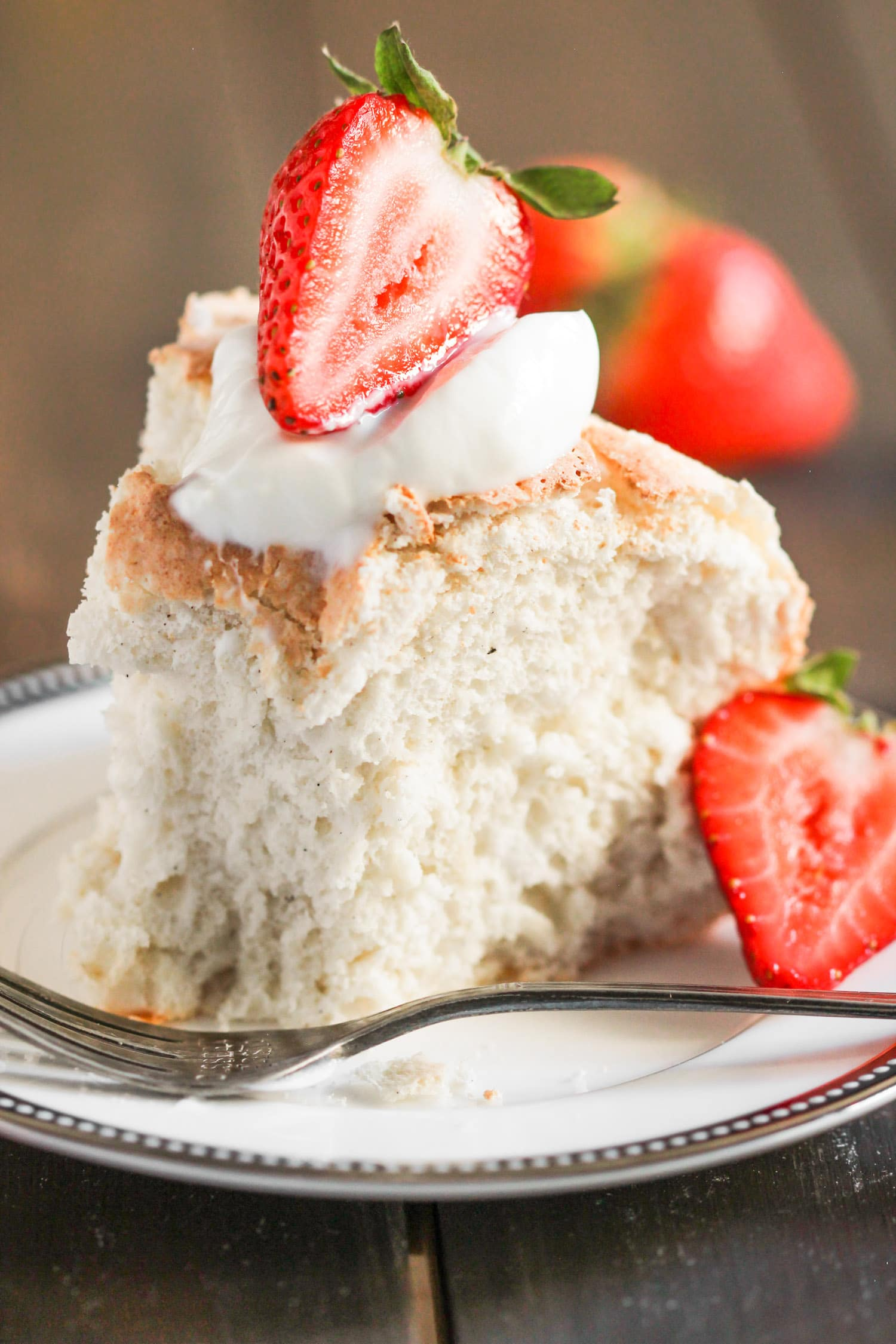 Stevia Angel Food Cake Recipe