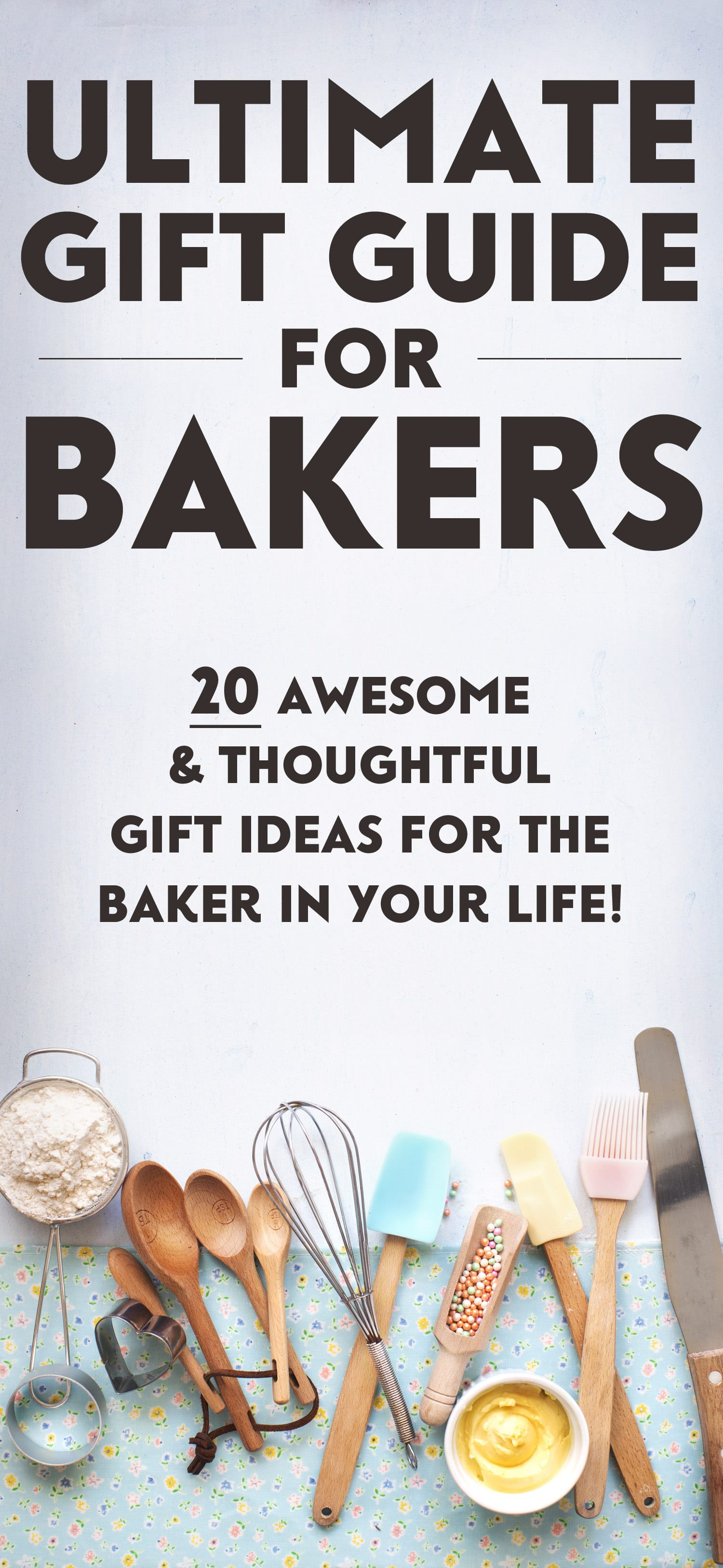 The ULTIMATE Foodie Gift Guide: 20 Awesome Gift Ideas for the Healthy Baker In Your Life! Unique, creative, and thoughtful gift ideas from ingredients to products to appliances to bakeware and more. Healthy Dessert Recipes at the Desserts With Benefits Blog (www.DessertsWithBenefits.com)