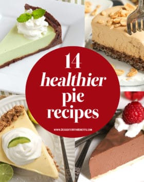 Celebrate Pi Day with Pie! Healthy pie, that is. These 14 healthy pie recipes will satisfy your sweet tooth without all the extra calories, fat, and sugar!