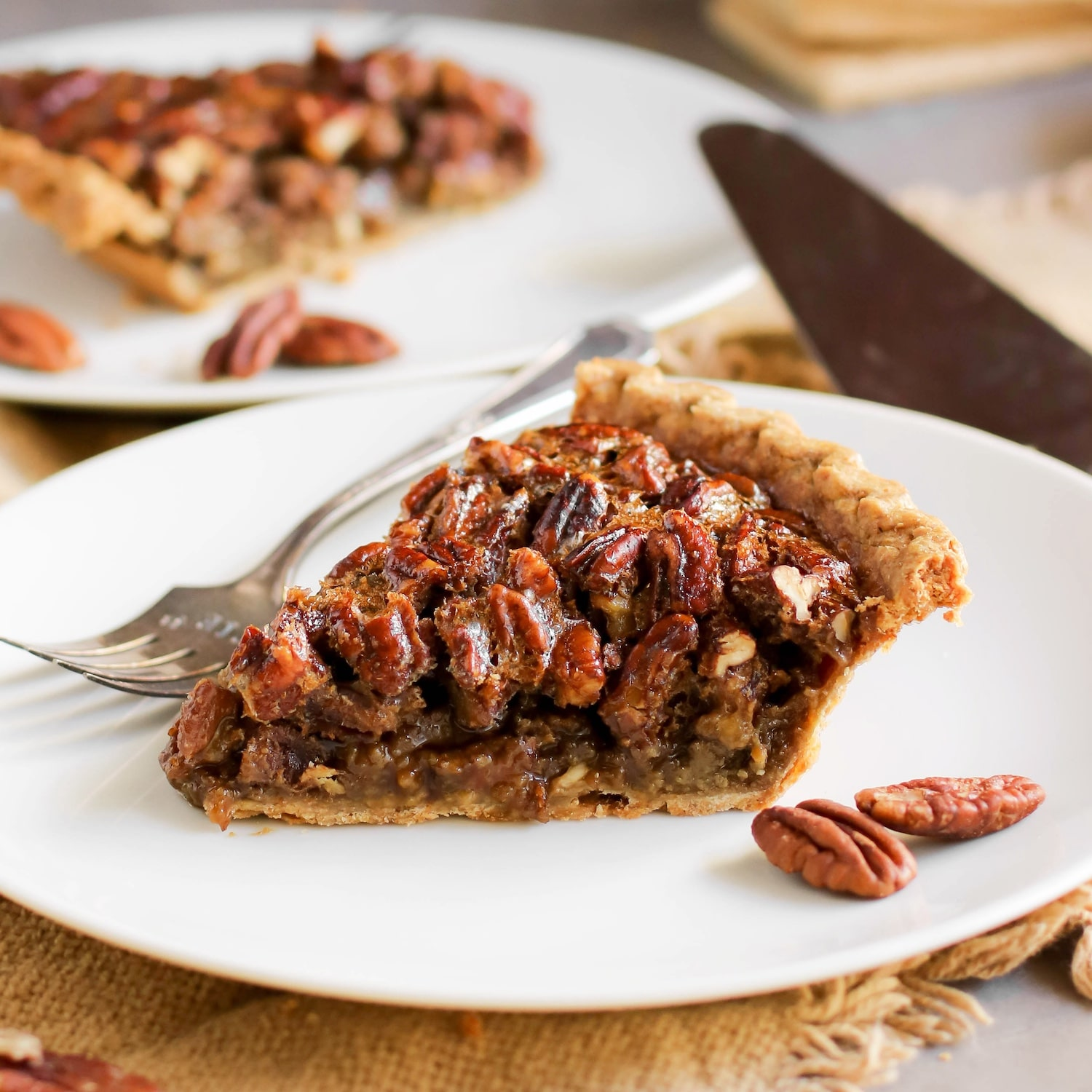 Healthy Pecan Pie Recipe Without The Corn Syrup Butter And Cream